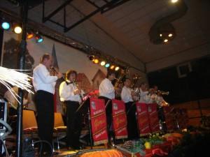 Blaskapelle Gloria sorgt für Stimmung