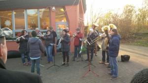 Auftritt Weihnachtsmarkt Lebenshilfe Bingenheim
