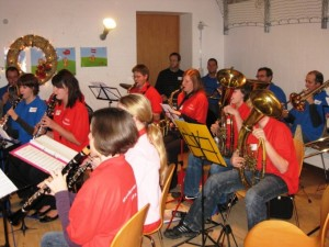 Das Jugendorchester präsentiert sich