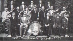 Gruppenfoto 1951